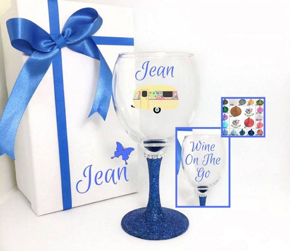 Caravan Owner Wine Glass