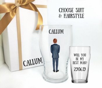 Will You Be My Best Man Custom Suit