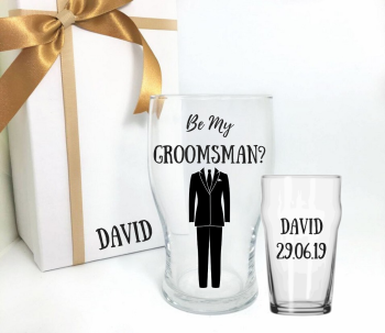 Will You Be My Groomsman Standard Suit