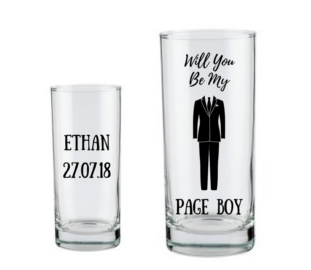 will you be my page boy gifts