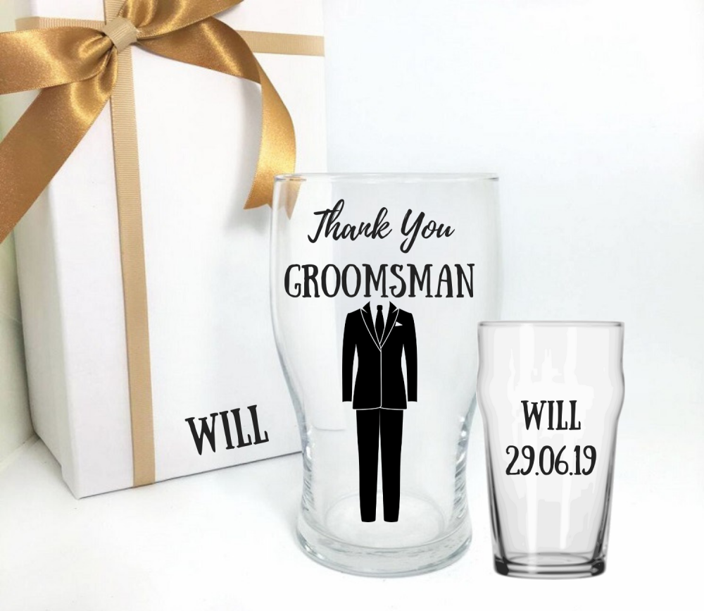 Thank you groomsman