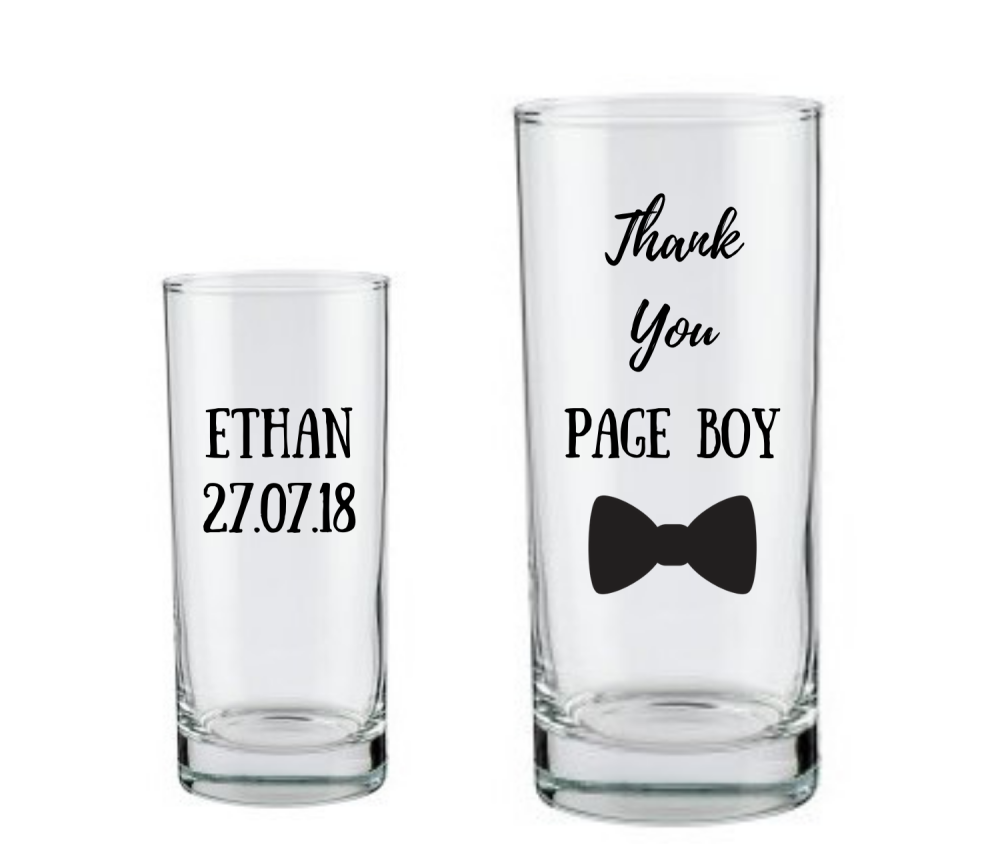 personalised page boy gift