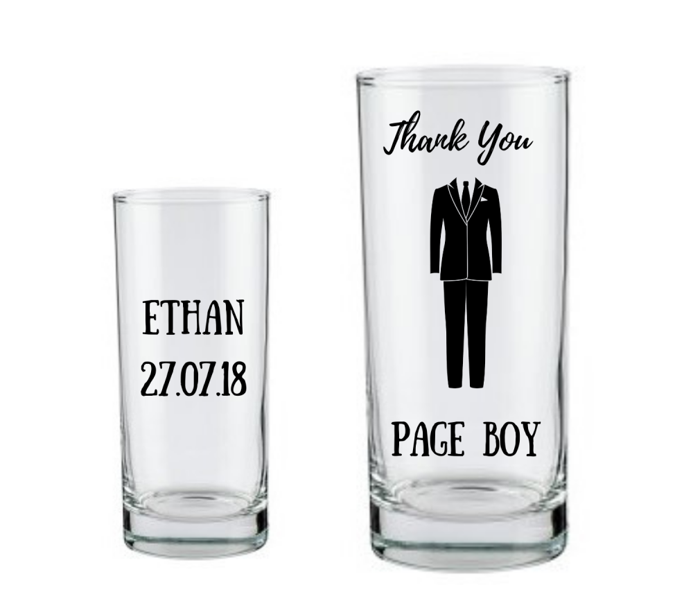 thank you page boy gift