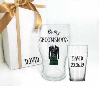 Will You Be My Groomsman Scottish