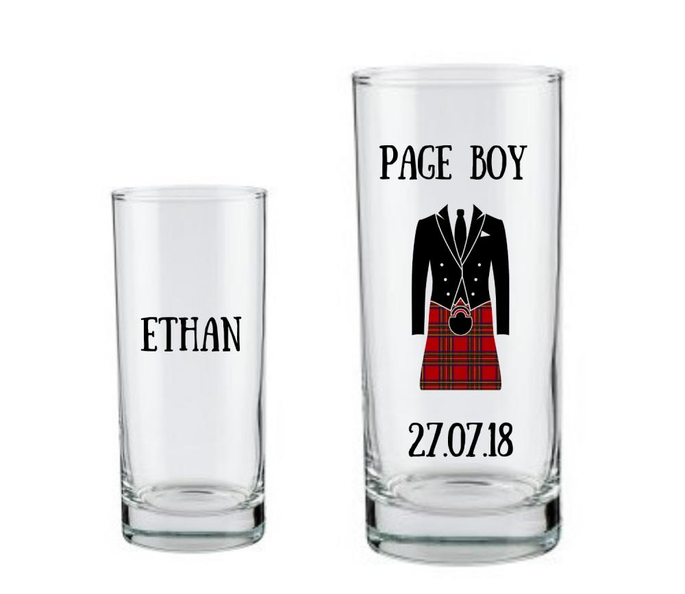 Thank You Page Boy Scottish