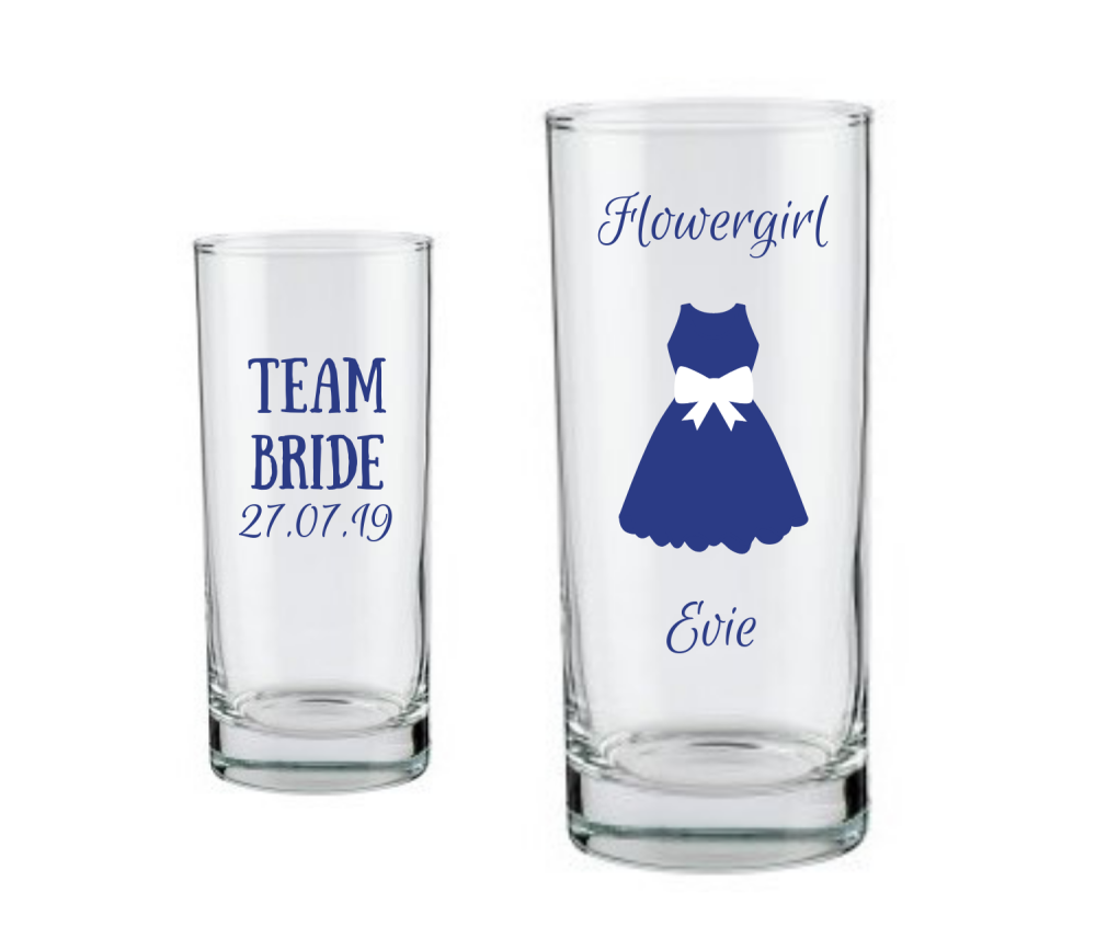 personalised flowergirl gifts