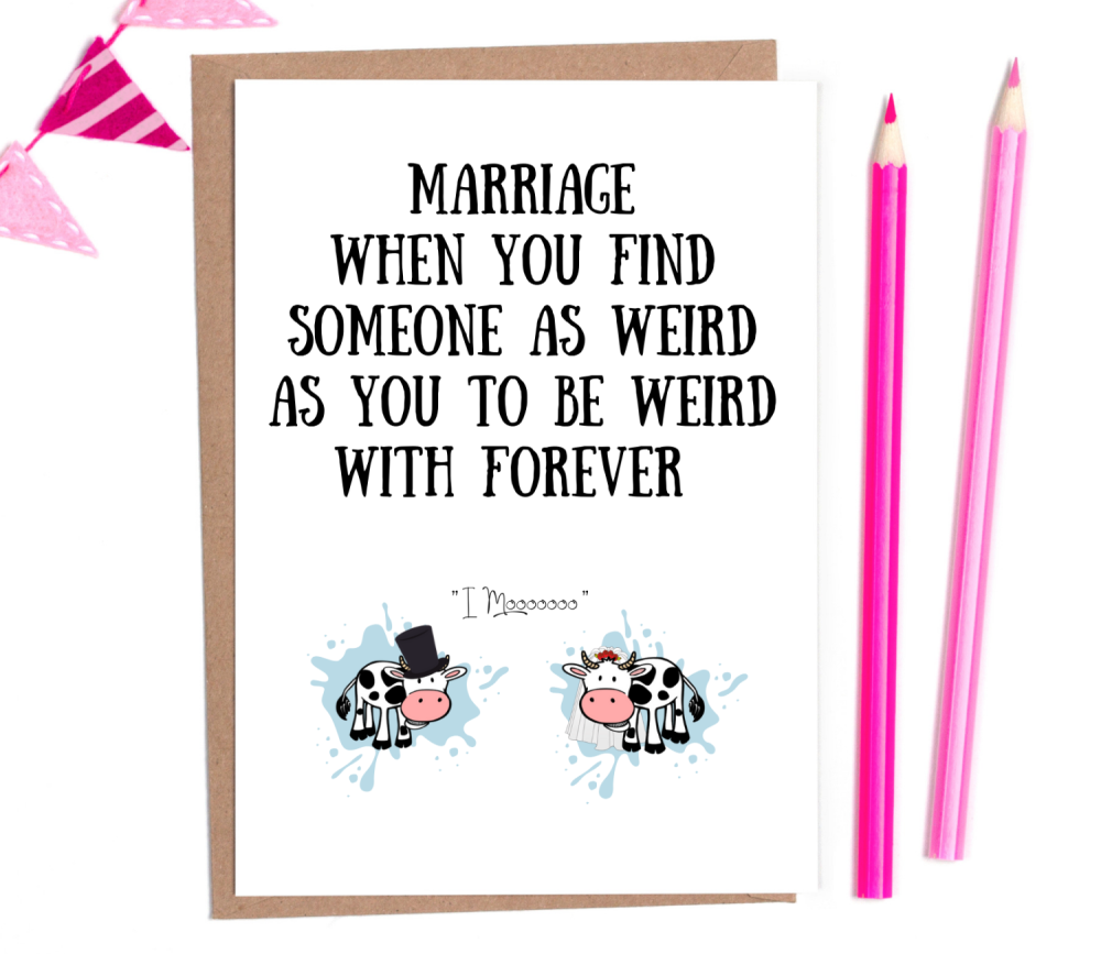 funny wedding cards