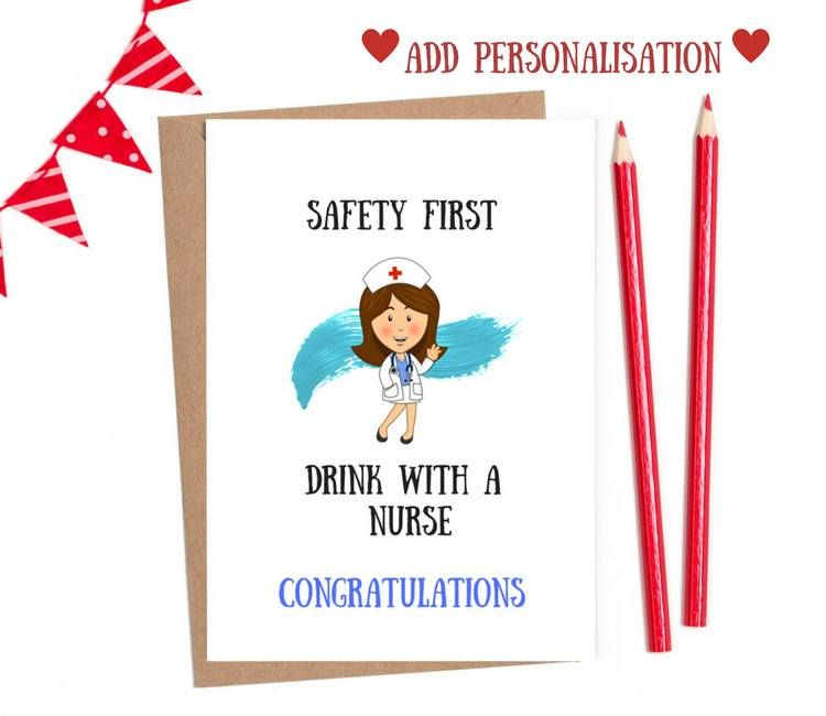 nurse graduation card