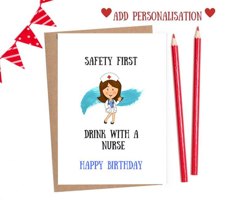 nurse birthday card | nurse cards funny