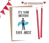 Job - Policeman Happy Birthday