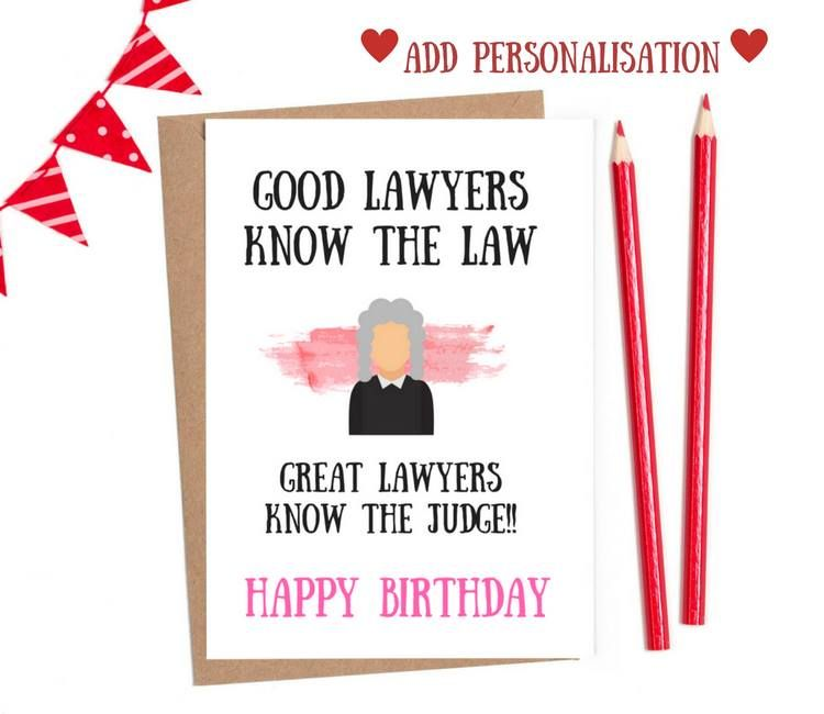lawyer birthday cards