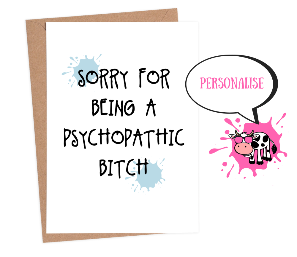 Sorry - Psychopathic
