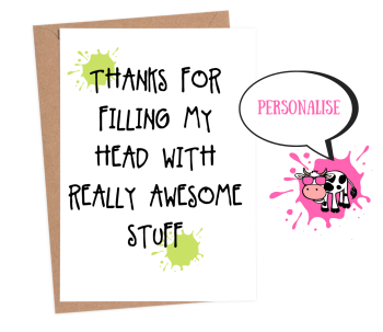 Thanks - Filling My Head