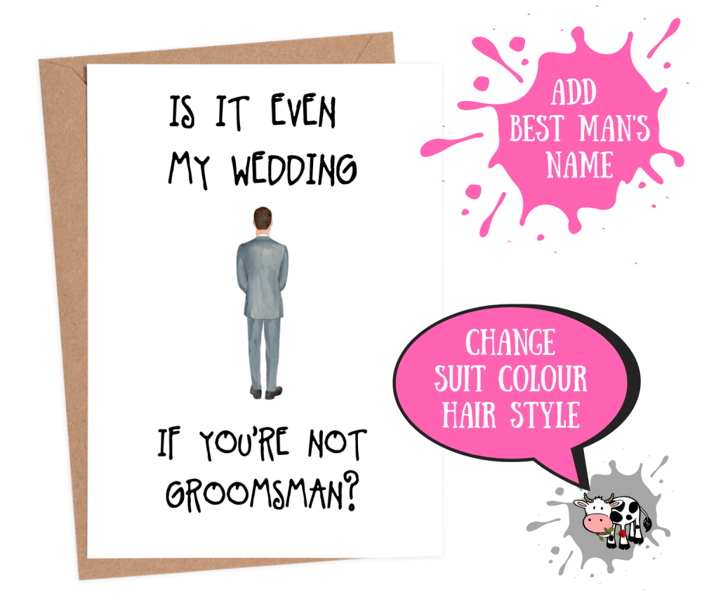 Groomsman - Is It Even