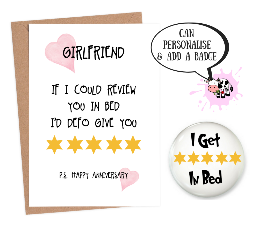 Girlfriend Ann - 5 Star Review