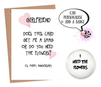 Girlfriend Ann - Flowers