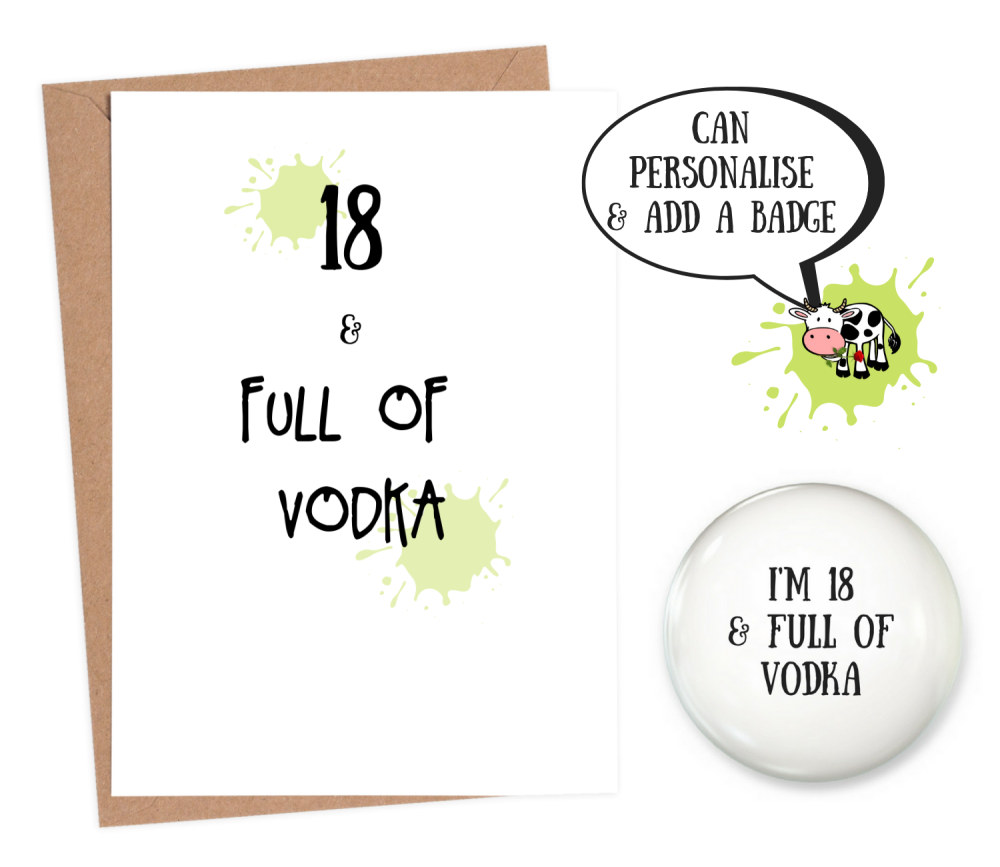 funny 18th birthday cards