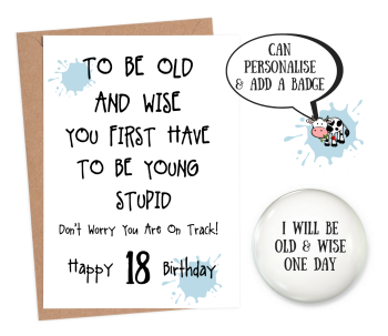 18 Old and Wise