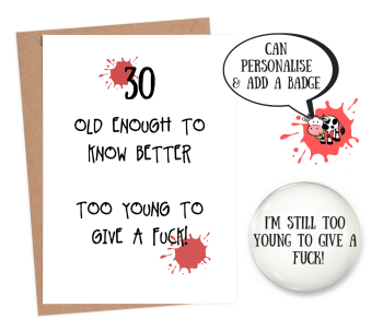 30 Old Enough