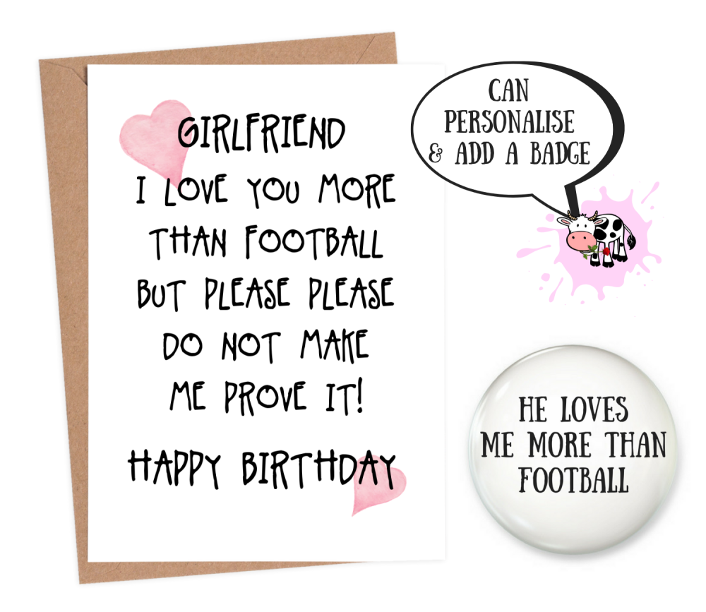 funny girlfriend birthday cards