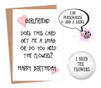 Girlfriend Need Flowers