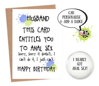 Husband Sex Voucher Anal