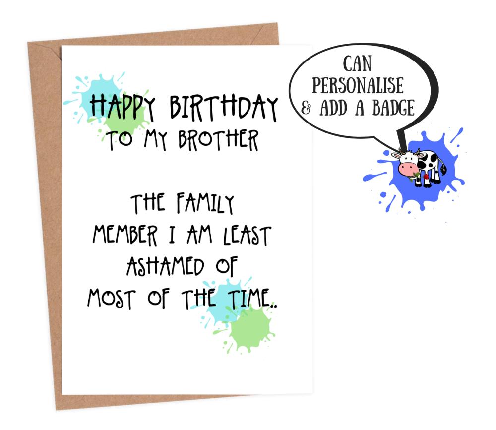 Brother Least Ashamed
