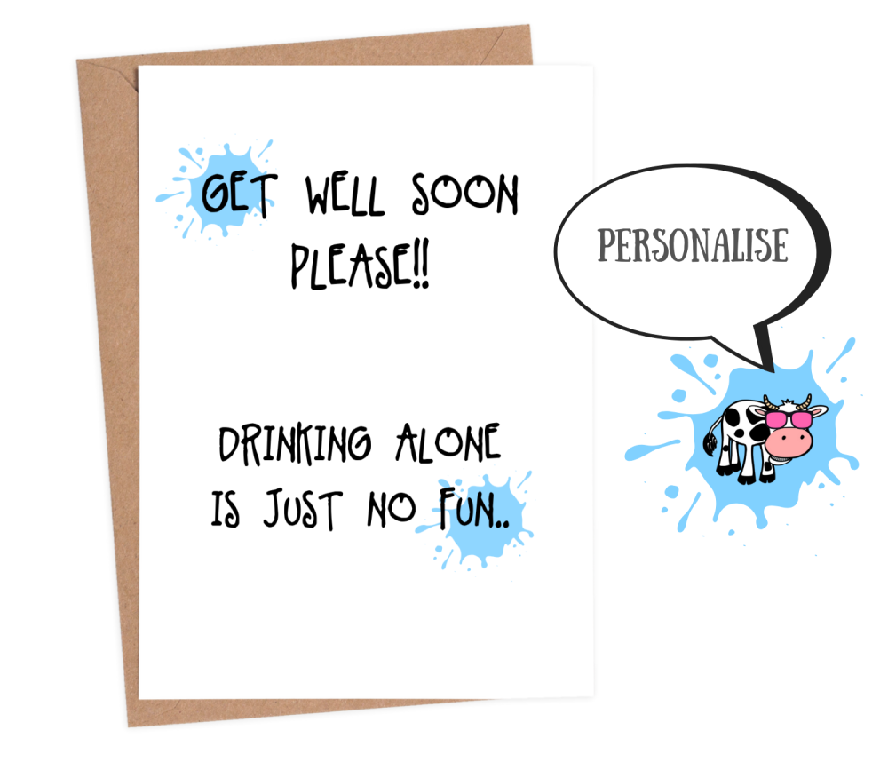 funny get well soon cards