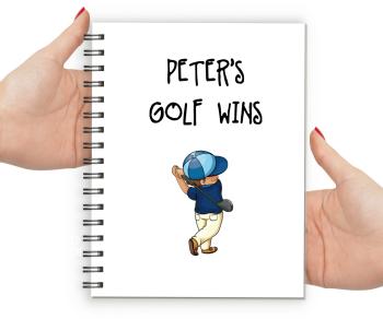 Golfer Notebook