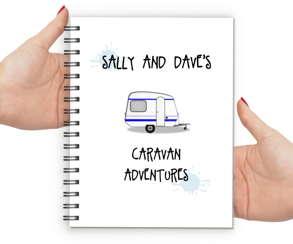 Personalised caravan gifts