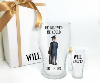 Graduation Pint - He Believed