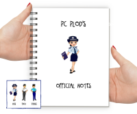 Police Woman Notebook