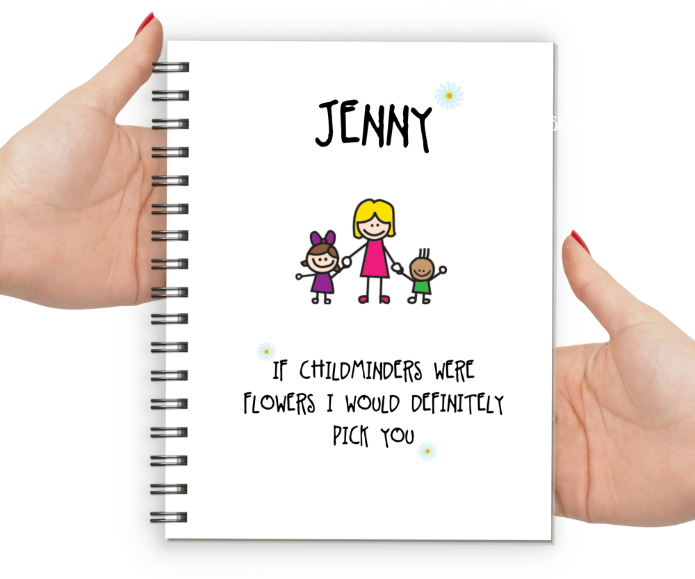 personalised childminder gifts