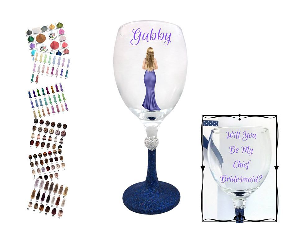 will you be my chief bridesmaid gift ideas