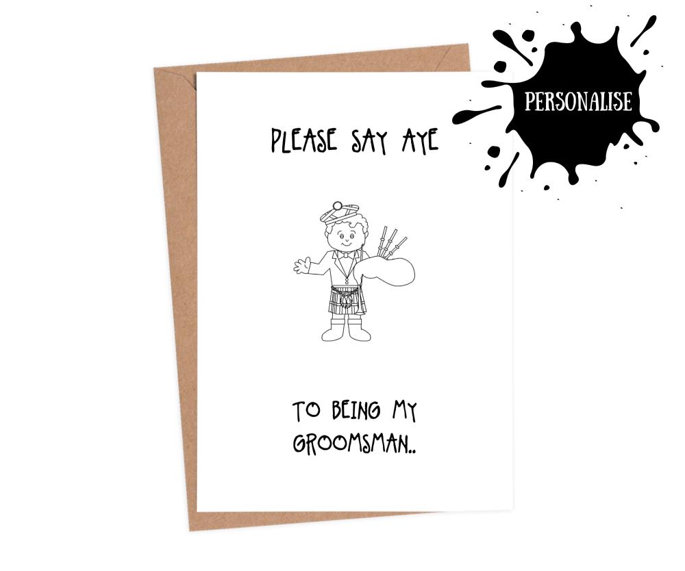 Groomsman - Please Say Aye