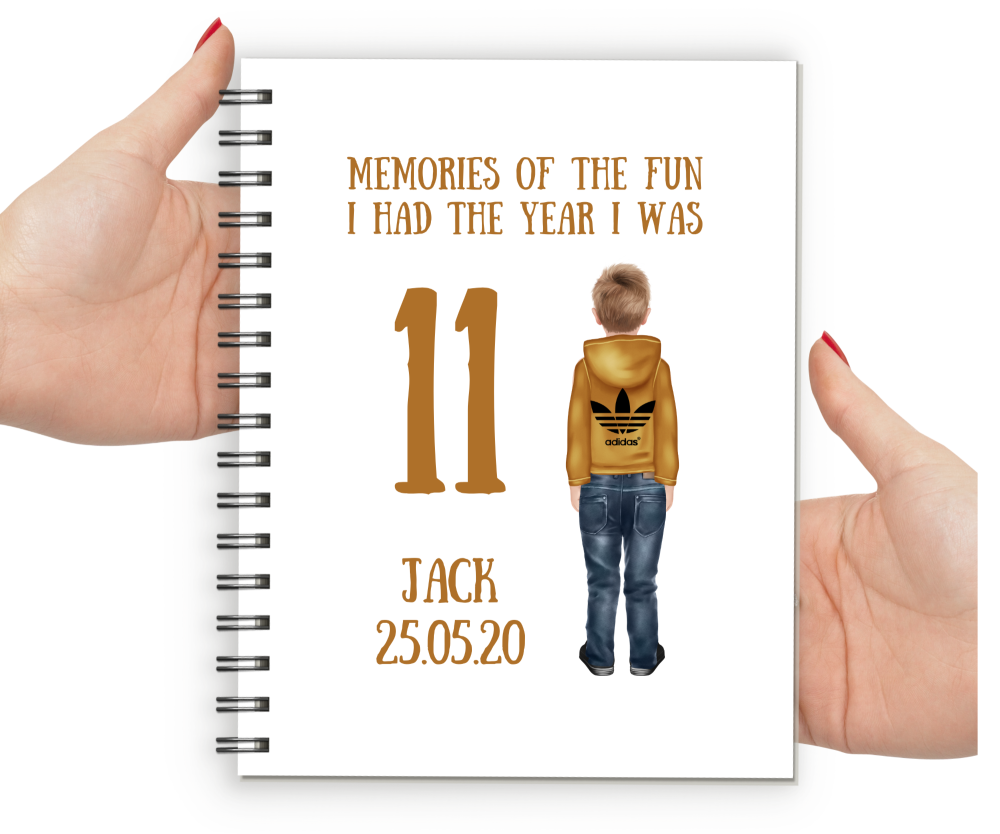 11th Birthday Boy Notebook