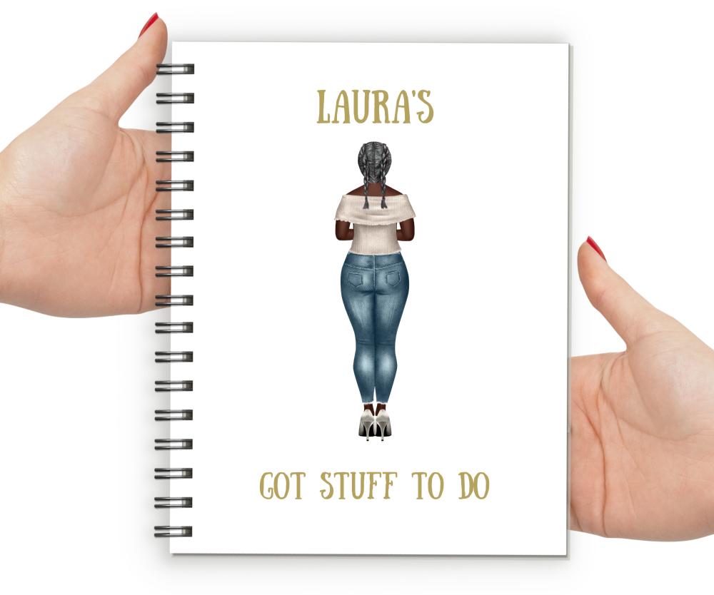 Personal - Curvy Lady Got Stuff To Do