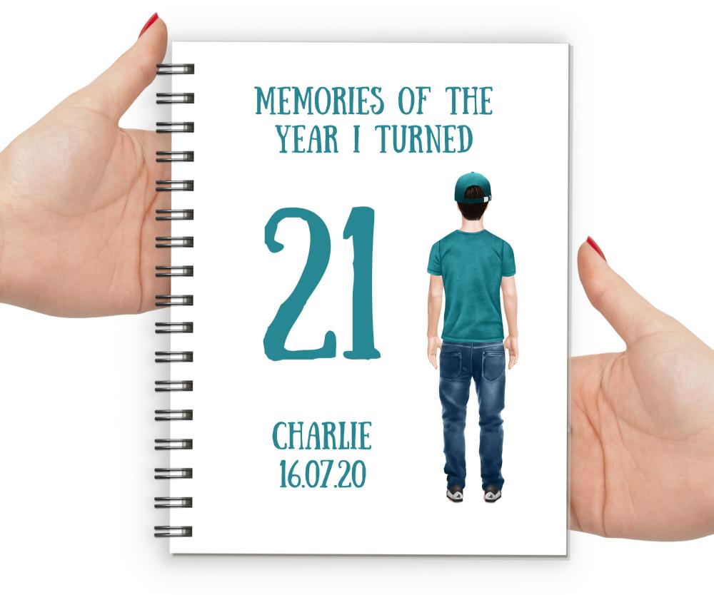 21st  Notebook Boy