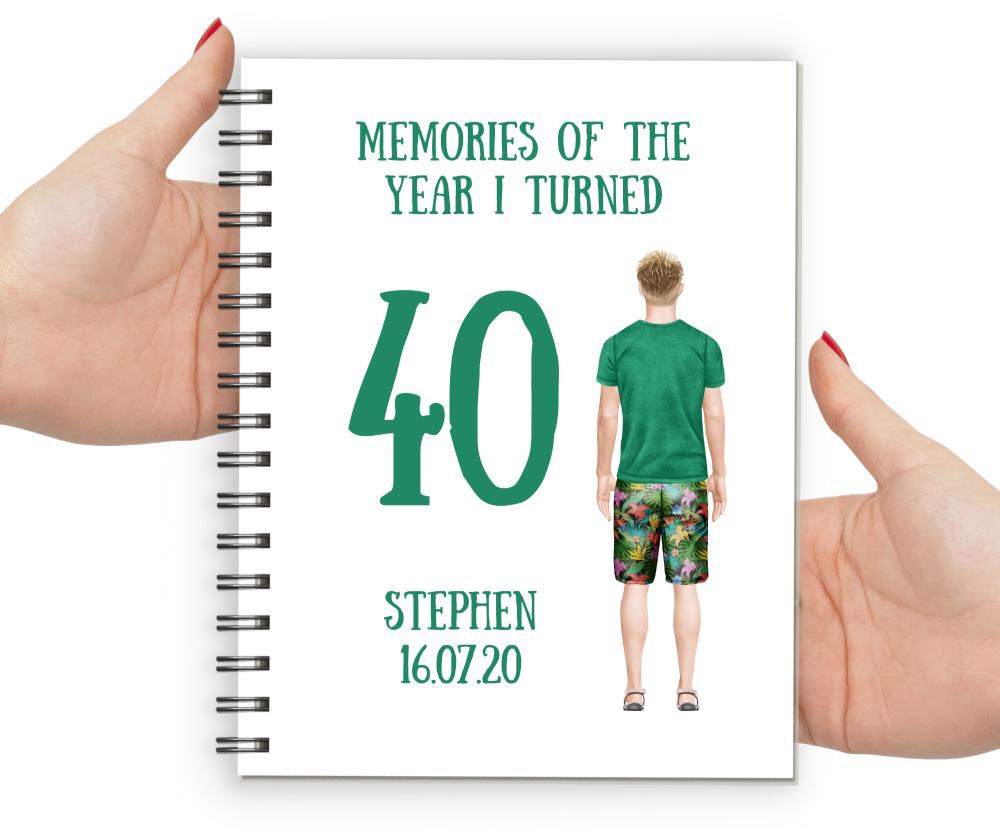40th  Notebook Boy