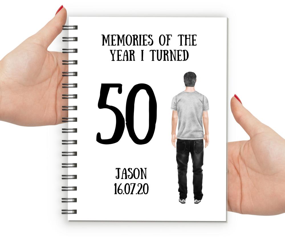 50th  Notebook Boy
