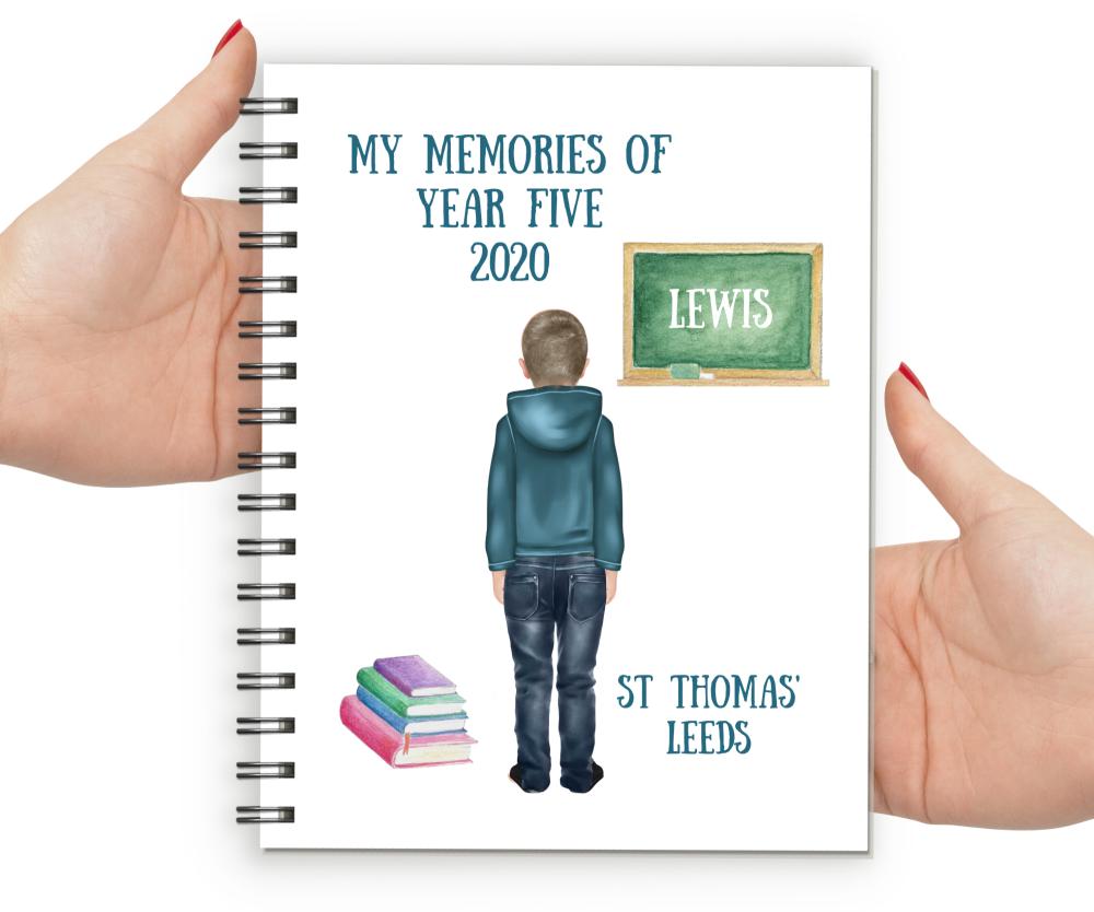 Memories of Year Five Notebook