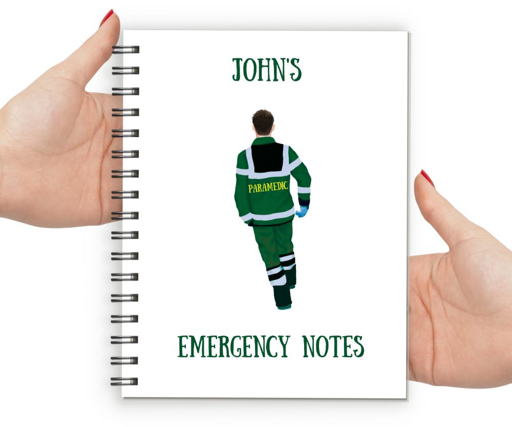 Paramedic Male Notebook