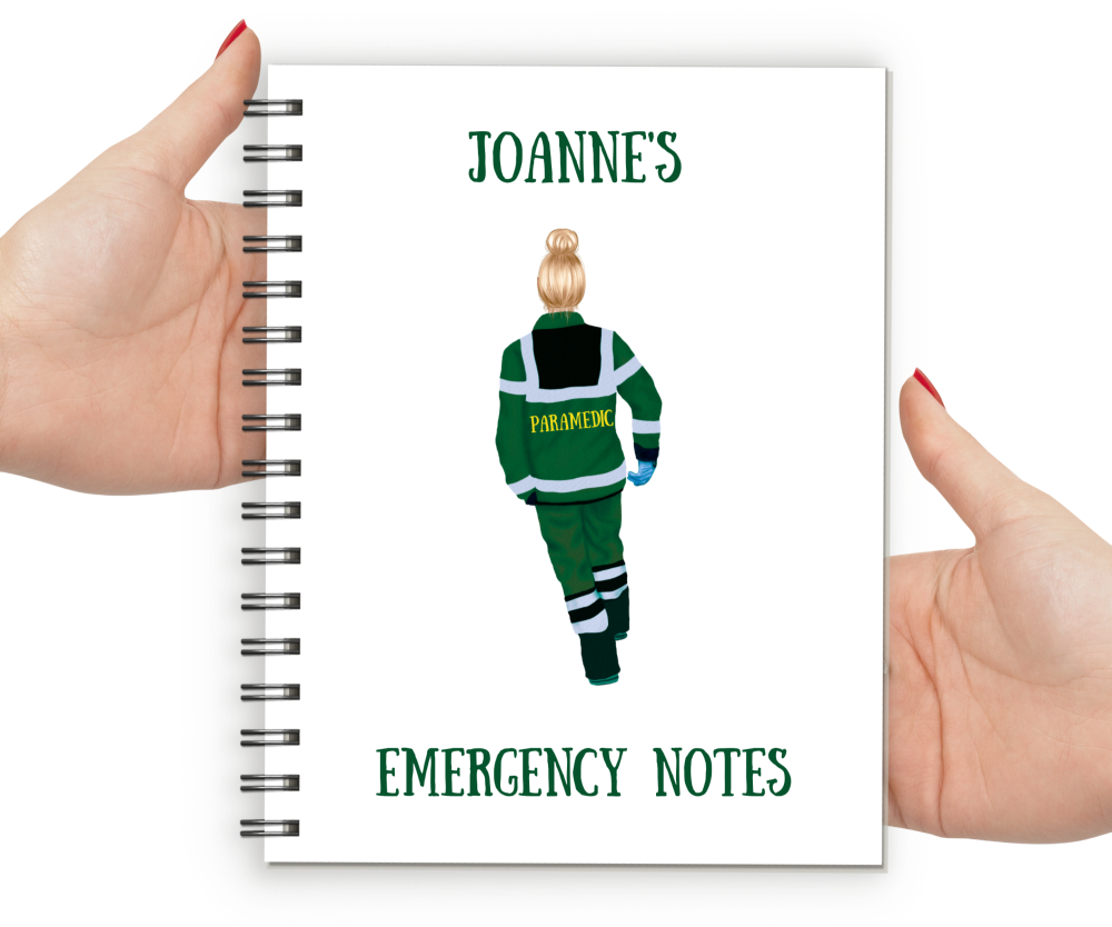 Paramedic Female Notebook