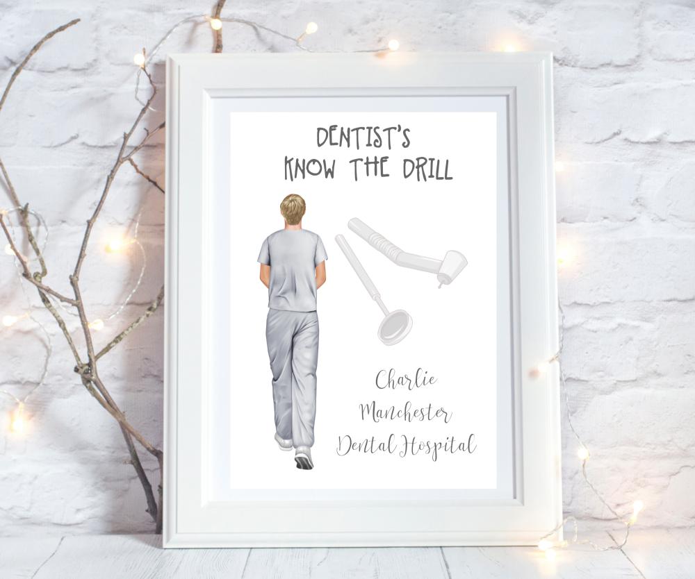 personalised dentist gift ideas
