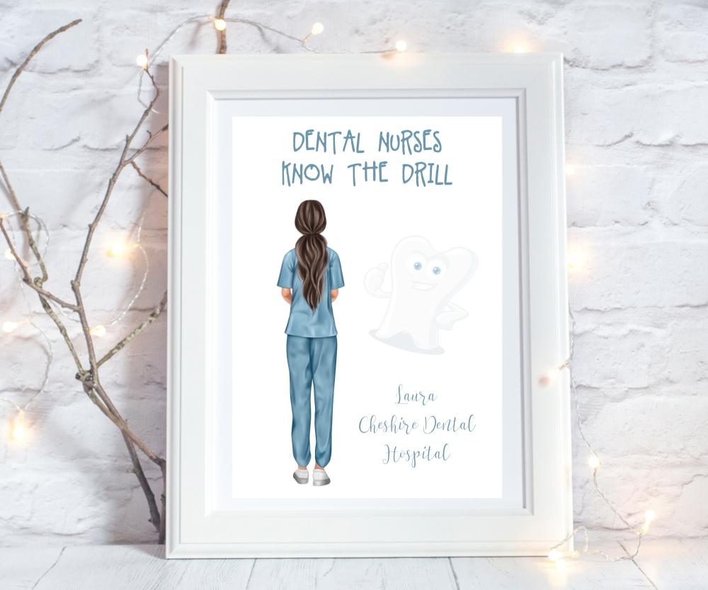Print Dental Nurse Know The Drill