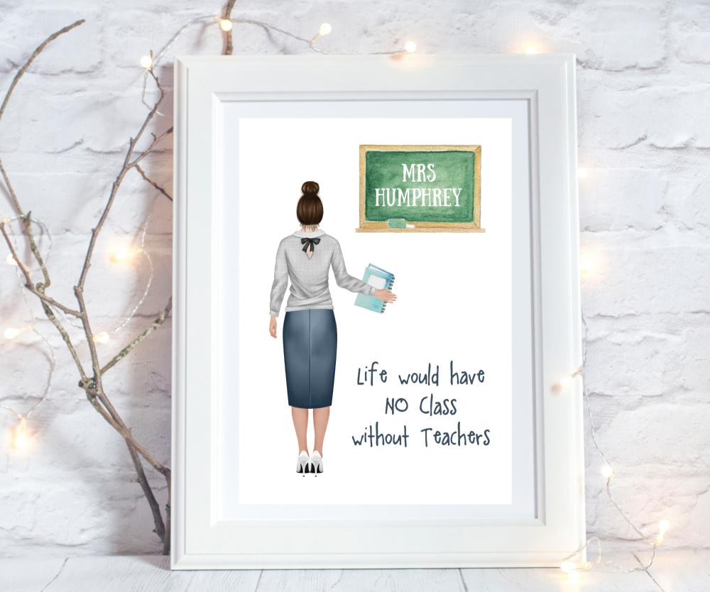 personalised teacher gifts uk