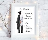 Print Doctor Male Graduation