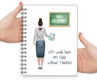 Teacher Notebook Female (No Class)