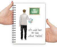 Teacher Notebook Male (No Class)
