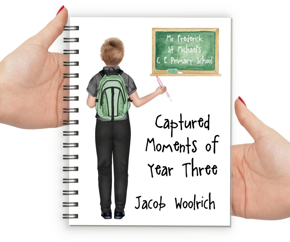 school memory book